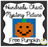 Free Pumpkin Math - Hundreds Chart Picture