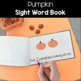 "Pumpkin ""I See"" Counting Book"