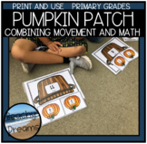 Pumpkin In The Patch PE and Math Game  (Part Part Whole)