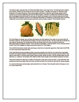 Thanksgiving-Pumpkin Information