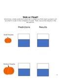 Pumpkin Inquiry Experiment