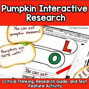 Pumpkins: Writing, Research, Science