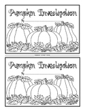 Pumpkin Investigation Book