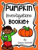 Pumpkin Investigation Booklet