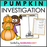 Pumpkin Investigation FREE