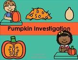 Pumpkin Investigation Journal and Worksheets