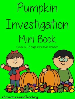 Pumpkin Investigation Mini Book