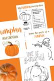 Pumpkin Investigation Pack printable