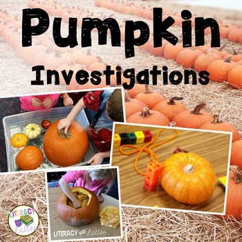 Pumpkin Investigation {Science Lab Printable Student Booklet}