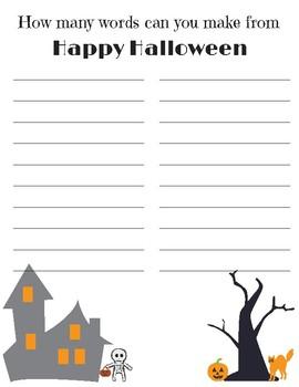 Pumpkin Investigation Set, Halloween Activities Worksheets, Pumpkin  Worksheets
