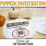 Pumpkin Investigation:  The Case of the Pumpkin Patch