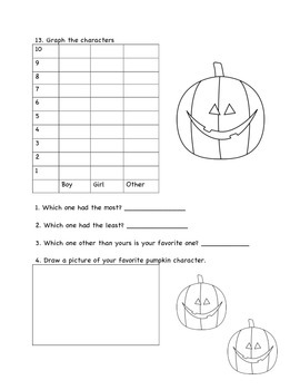 Pumpkin Investigation and Book Report Templates