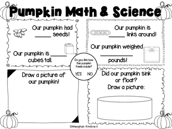 Pumpkin Math and Science: Investigation and Exploration