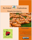 Pumpkin Investigation for Preschoolers