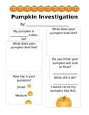 Pumpkin Investigation/Exploration