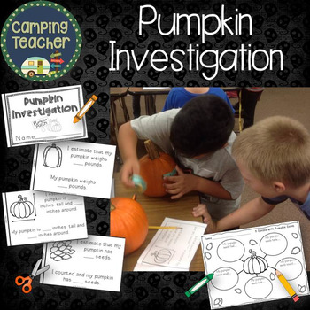 Pumpkin Investigations Book