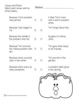 Pumpkin Jack: A Literature Unit
