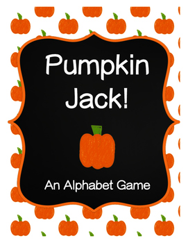 Pumpkin Jack Alphabet Game