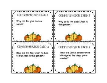 Pumpkin Jack Book Companion: ELA, Science, and Art Activities