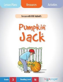 Pumpkin Jack Lesson Plans & Activities Package, Third Grade (CCSS)