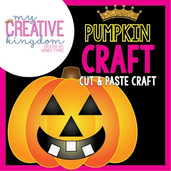 Pumpkin Jack O' Lantern Craft