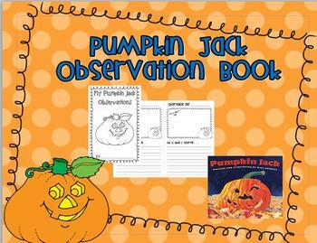 Pumpkin Jack Observation Book
