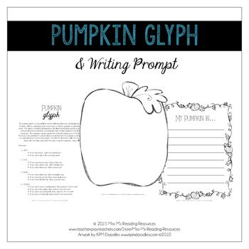 Pumpkin Jack-o-Lantern Glyph