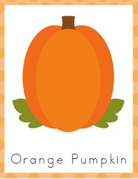 Pumpkin Kindergarten Learning Pack