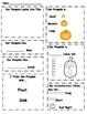Pumpkin Lab Sheet