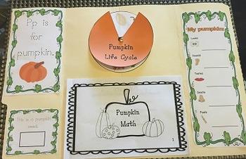 Pumpkin Lap Book