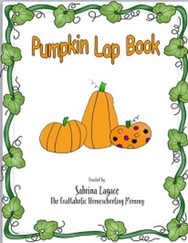 Pumpkin Lap Book