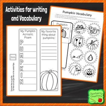 Pumpkin Lapbook Science Activities
