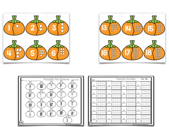 Pumpkin Learning - Letters Sounds Numbers And Counting