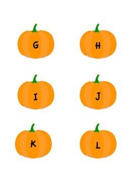 Pumpkin Letter Cards
