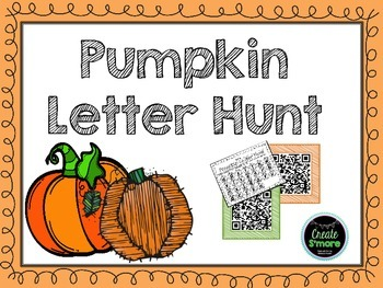 Pumpkin Letter Hunt