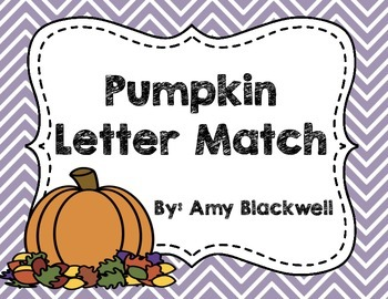 Pumpkin Letter Match