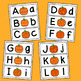 Pumpkin Letter Matching