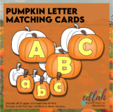 Pumpkin Letter Matching Cards (upper & lowercase)