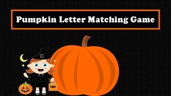 Pumpkin Letter Matching Game