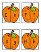 Pumpkin Letter Matching Puzzles