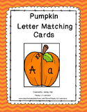 Pumpkin Letter Matching Puzzles
