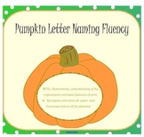 Pumpkin Letter Naming Fluency SMARTboard