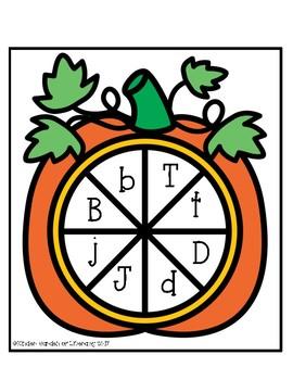 Pumpkin Letter Spin