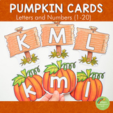 Pumpkin Letter and Number Cards