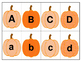 Pumpkin Letter and Number Match