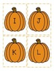 Pumpkin Letter and Number Match Game