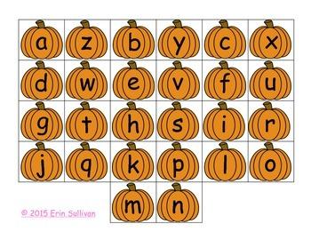 Pumpkin Letters