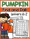 Pumpkin Find and Dab (Letters A-Z)