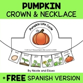 Pumpkin Life Cycle Activity Crown and Necklace