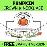Necklace Craft - Pumpkin Life Cycle Activities